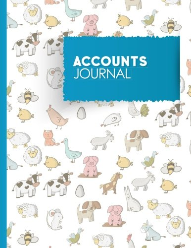 Accounts Journal: Account Book Journal, Bookkeeping Ledger: Publishing, Moito