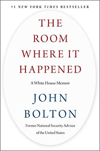 9781982148034: The Room Where It Happened: A White House Memoir