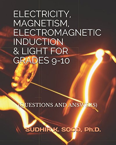 ELECTRICITY, MAGNETISM, ELECTROMAGNETIC INDUCTION & LIGHT FOR: Sudhir K. Sood
