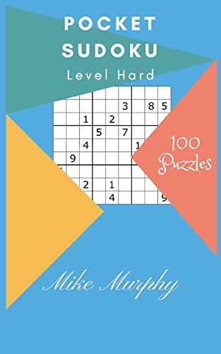 9781983404313: Pocket Sudoku: Level Hard 100 Puzzles