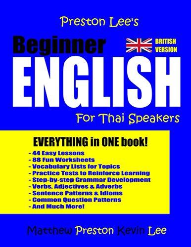 9781983491290: Preston Lee's Beginner English For Thai Speakers (British)