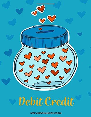 Debit Credit Balance Ledger: Accounts Journal : accounting books