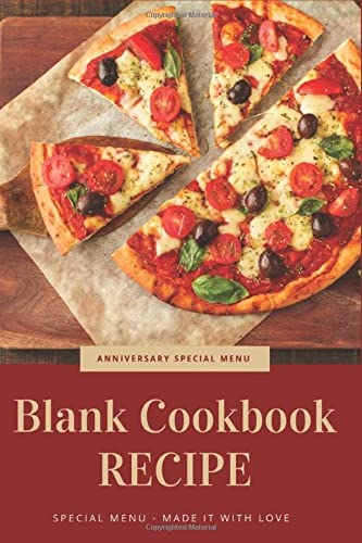 Blank Cookbook Recipe: Anniversary Special Menu, Couple: Amily Wise