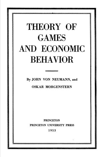 9781983879371: Theory Of Games And Economic Behavior
