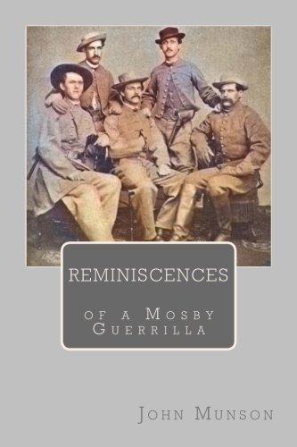 9781983989421: Reminiscences of a Mosby Guerrilla