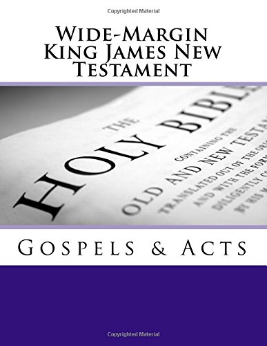 Wide-Margin King James New Testament: Imel Sr, Dr