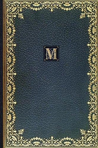 Golden Teal Monogram M 2018 Planner Diary: Publications, Strategic