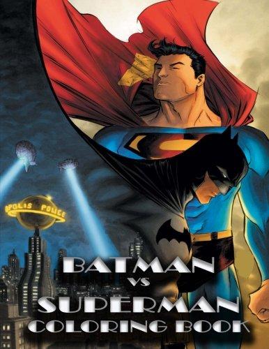 BATMAN vs SUPERMAN coloring book: Mr Khon