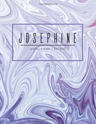 Josephine Journal Diary Notebook: Electric Violet Purple: Mango House Publishing