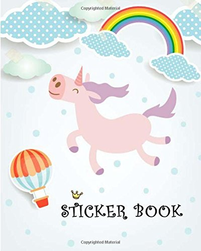 9781984282477: Sticker Book: Blank Sticker book for Toddlers