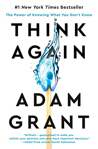 9781984878106: Think Again: The Power of Knowing What You Don't Know