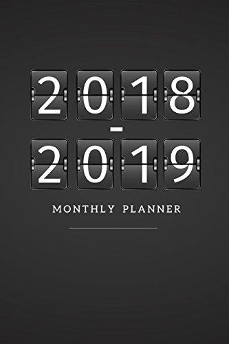 2018 - 2019 Monthly Planner (24 Month Calendar Planner) (Volume 3): Nicole Planner