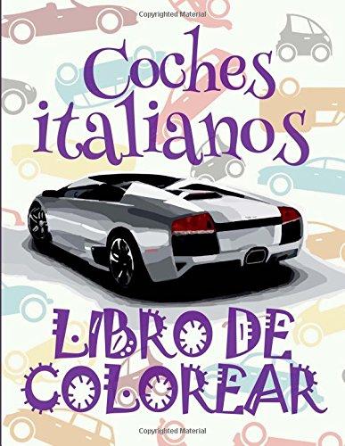 9996; Coches Italianos #9998; Libro de Colorear: Kids Creative Spain
