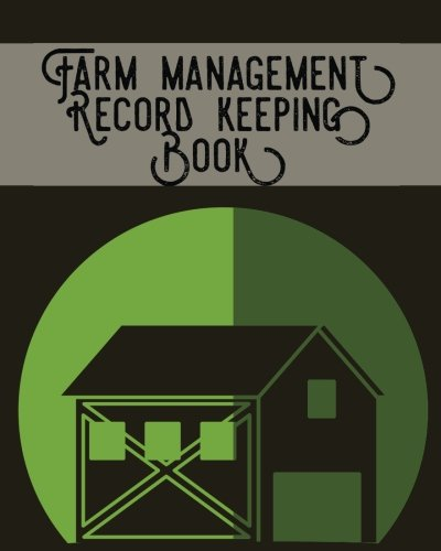 Farm Management Record Keeping Book: Brown- Bookkeeping: Signature Planner Journals