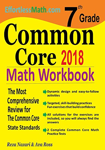 7th Grade Common Core Math Workbook: The Most Comprehensive Review for The Common Core State ...