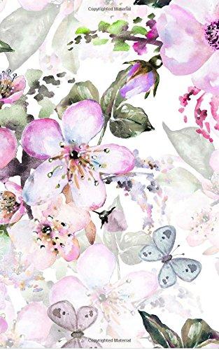 9781986315968: Carnet de Mots de Passe: A5 - 98 Pages - 120 - Watercolor - Fleurs - Pastel