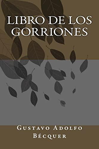 9781986820813: Libro de los Gorriones