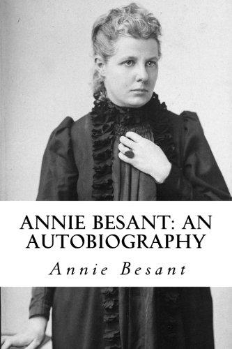 9781987712247: Annie Besant: An Autobiography