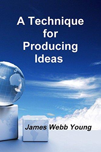 9781987817461: A Technique for Producing Ideas