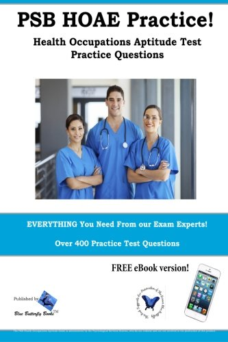 9781987862010: PSB HOAE Practice! Health Occupations Aptitude Test Practice Questions