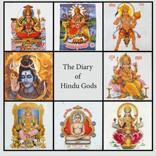 9781987869491: Diary of Hindu Gods: 200-page Lined Writing Journal With Multiple Hindu Deities