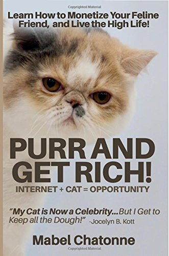 9781987989052: Purr and Get Rich!: [Novelty Notebook]