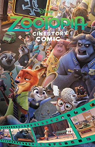 9781988032870: Disney Zootopia Cinestory Comic