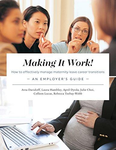 Making It Work! How to effectively manage: Davidoff, Avra; Hambley,
