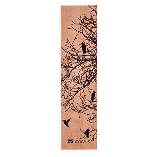 9781988096070: Sparse Branches With Birds Ultra Thin Eco Wood Bookmark Made In The USA