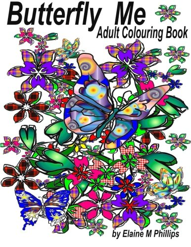 9781988097022: Butterfly Me Adult Colouring Book: Adult Colouring Book (Volume 2)