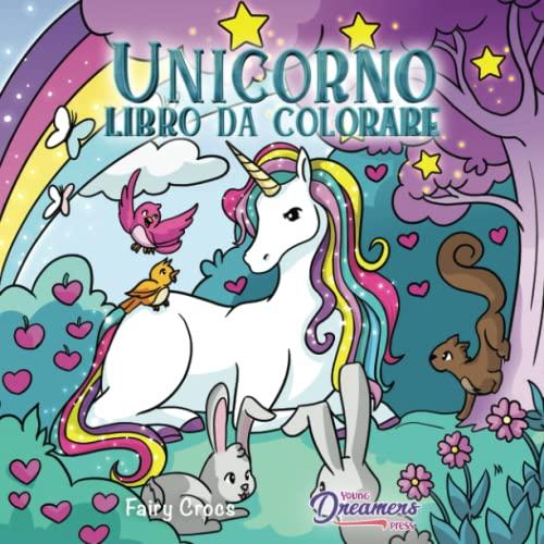 9781989790267: Unicorno libro da colorare: Per bambini dai 4 agli 8 anni