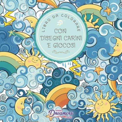 9781989790359: Libro da colorare con disegni carini e giocosi: Per bambini di 6-8, 9-12 anni