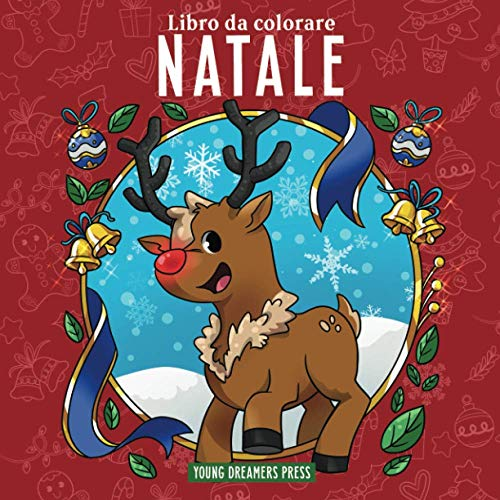 9781990136009: Libro da colorare Natale: Per bambini di 4-8, 9-12 anni