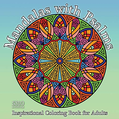 9781990158193: Mandalas with Psalms: Inspirational Coloring Book for Adults