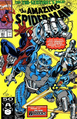 The Amazing Spiderman: The Tri-sentinel's Back, and: Stan Lee; David