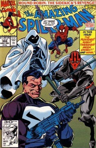 9781991355102: The Amazing Spiderman, Issue No. 355: Punisher / Moon Knight / Night Thrasher / Nova