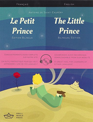 9781999706104: Little Prince French Eng Biling BK MP3