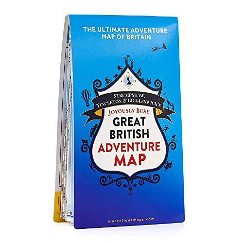 9781999784508: Great British Adventure Map
