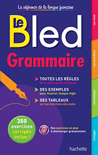 9782010003950: Le Bled Grammaire (French Edition)