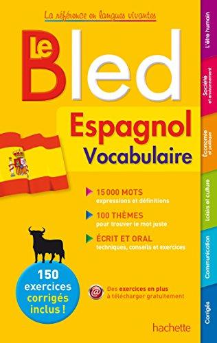 9782010004025: Bled Vocabulaire Espagnol (Bled Référence)