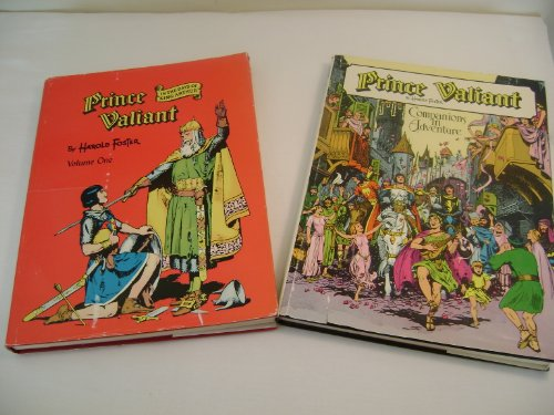 9782010004384: PRINCE VALIANT : Vol. 1, In The Days Of King Arthur , Vol. 2, Companions in Adventure