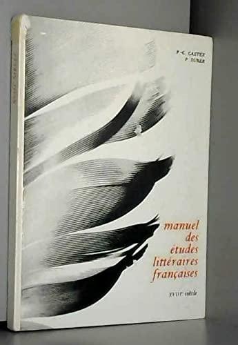 9782010006630: Manuel des études littéraires françaises , XVIII; siècle
