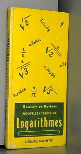 NOUVELLES TABLES DE LOGARITHMES A CINQ DECIMALES, TABLE NUMERIQUE, TABLES TRIGONOMETRIQUES, ...