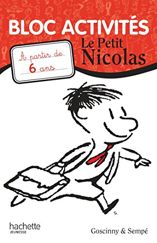 9782010011061: Le petit Nicolas : Bloc activités, a partir de 6 ans