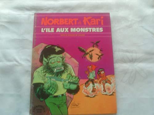 9782010012488: L'�le aux monstres (Norbert et Kari...)