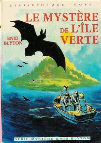 9782010012662: Le myst�re de l'�le verte : Collection : Biblioth�que rose cartonn�e