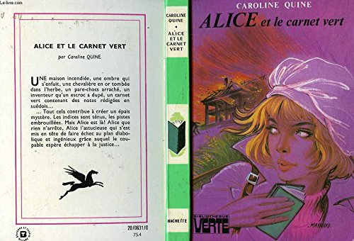 9782010014727: Alice et le carnet vert