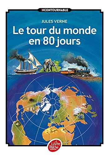 9782010015809: Le tour du monde en 80 jours (Livre de Poche Jeunesse)