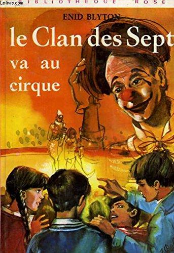 9782010019357: Le clan des sept va au cirque