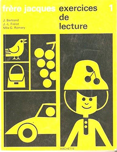 9782010021404: frere Jacques: exercices de lecture, 1